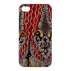 Indian Traditional Art Pattern Apple Iphone 4/4s Hardshell Case by Amaryn4rt