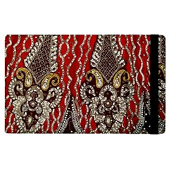Indian Traditional Art Pattern Apple Ipad 3/4 Flip Case by Amaryn4rt