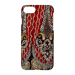 Indian Traditional Art Pattern Apple Iphone 7 Hardshell Case by Amaryn4rt