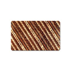 Udan Liris Batik Pattern Magnet (name Card) by Amaryn4rt