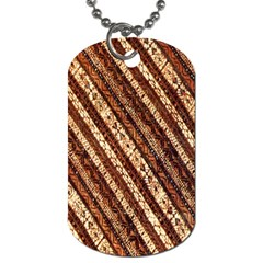 Udan Liris Batik Pattern Dog Tag (two Sides)