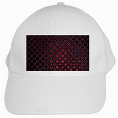 Star Patterns White Cap