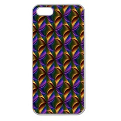 Seamless Prismatic Line Art Pattern Apple Seamless Iphone 5 Case (clear)