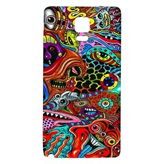 Vector Art Pattern Galaxy Note 4 Back Case