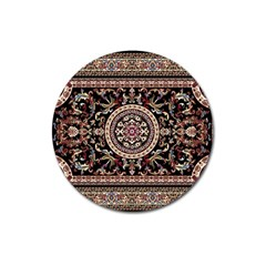 Vectorized Traditional Rug Style Of Traditional Patterns Magnet 3  (round)
