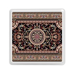 Vectorized Traditional Rug Style Of Traditional Patterns Memory Card Reader (square)  by Amaryn4rt