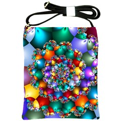 Rainbow Spiral Beads Shoulder Sling Bags