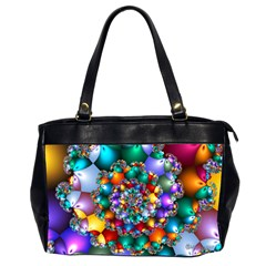 Rainbow Spiral Beads Office Handbags (2 Sides)