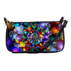 Rainbow Spiral Beads Shoulder Clutch Bags