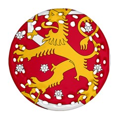 Coat Of Arms Of Finland Ornament (round Filigree) by abbeyz71