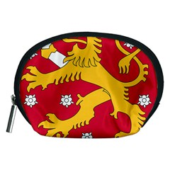 Coat Of Arms Of Finland Accessory Pouches (medium)
