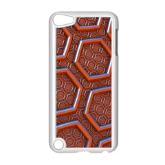 3d Abstract Patterns Hexagons Honeycomb Apple Ipod Touch 5 Case (white) by Amaryn4rt