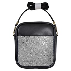 Abstract Flowing And Moving Liquid Metal Girls Sling Bags