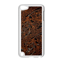 Art Traditional Indonesian Batik Pattern Apple Ipod Touch 5 Case (white) by Amaryn4rt