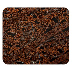 Art Traditional Indonesian Batik Pattern Double Sided Flano Blanket (small)  by Amaryn4rt