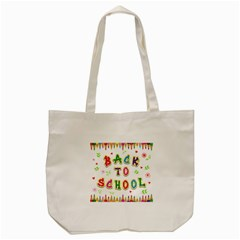 Back To School Tote Bag (cream) by Amaryn4rt