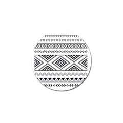 Aztec Pattern Golf Ball Marker (10 Pack) by Amaryn4rt