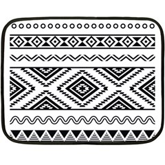 Aztec Pattern Double Sided Fleece Blanket (mini)  by Amaryn4rt