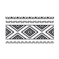 Aztec Pattern Satin Wrap