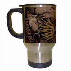 Chinese Dragon Travel Mugs (white) by Amaryn4rt