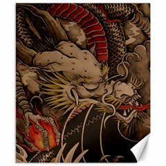 Chinese Dragon Canvas 8  X 10