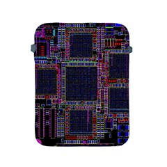 Technology Circuit Board Layout Pattern Apple Ipad 2/3/4 Protective Soft Cases