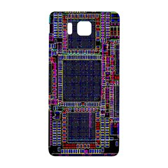 Technology Circuit Board Layout Pattern Samsung Galaxy Alpha Hardshell Back Case by Amaryn4rt