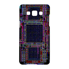 Technology Circuit Board Layout Pattern Samsung Galaxy A5 Hardshell Case  by Amaryn4rt