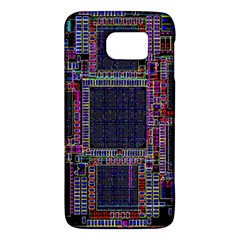 Technology Circuit Board Layout Pattern Galaxy S6 by Amaryn4rt