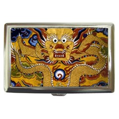 Chinese Dragon Pattern Cigarette Money Cases