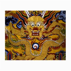 Chinese Dragon Pattern Small Glasses Cloth (2-side) by Amaryn4rt