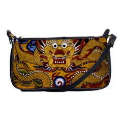 Chinese Dragon Pattern Shoulder Clutch Bags by Amaryn4rt