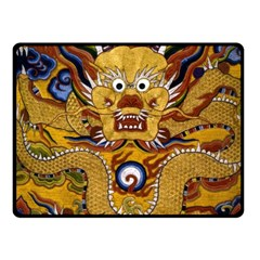 Chinese Dragon Pattern Fleece Blanket (small) by Amaryn4rt