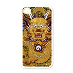 Chinese Dragon Pattern Apple iPhone 4 Case (White) Front