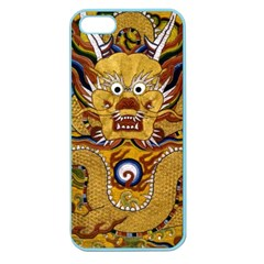 Chinese Dragon Pattern Apple Seamless Iphone 5 Case (color) by Amaryn4rt