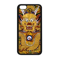 Chinese Dragon Pattern Apple Iphone 5c Seamless Case (black) by Amaryn4rt