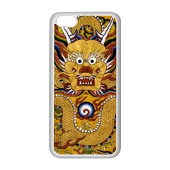 Chinese Dragon Pattern Apple Iphone 5c Seamless Case (white) by Amaryn4rt