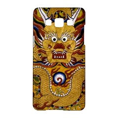 Chinese Dragon Pattern Samsung Galaxy A5 Hardshell Case  by Amaryn4rt