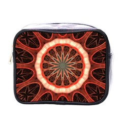 Circle Pattern Mini Toiletries Bags by Amaryn4rt