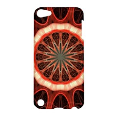 Circle Pattern Apple Ipod Touch 5 Hardshell Case by Amaryn4rt