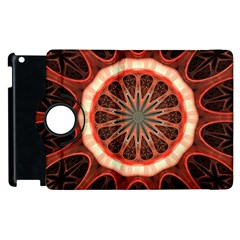 Circle Pattern Apple Ipad 3/4 Flip 360 Case by Amaryn4rt