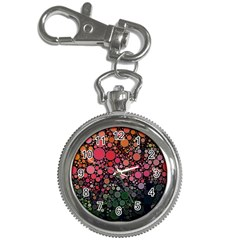 Circle Abstract Key Chain Watches by Amaryn4rt