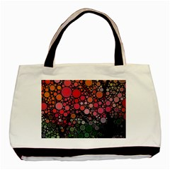 Circle Abstract Basic Tote Bag by Amaryn4rt