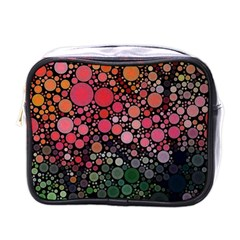 Circle Abstract Mini Toiletries Bags by Amaryn4rt
