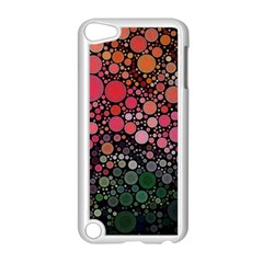 Circle Abstract Apple Ipod Touch 5 Case (white) by Amaryn4rt