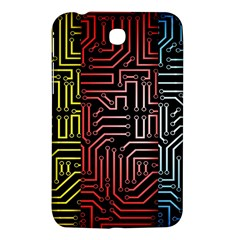 Circuit Board Seamless Patterns Set Samsung Galaxy Tab 3 (7 ) P3200 Hardshell Case  by Amaryn4rt