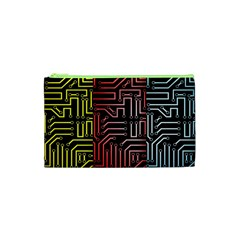 Circuit Board Seamless Patterns Set Cosmetic Bag (xs)