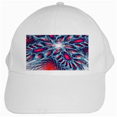 Creative Abstract White Cap by Amaryn4rt