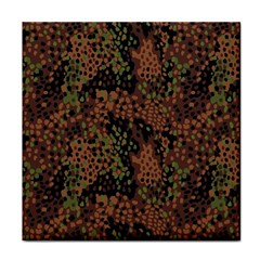 Digital Camouflage Face Towel by Amaryn4rt