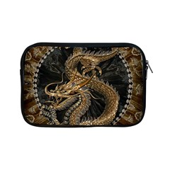 Dragon Pentagram Apple Ipad Mini Zipper Cases by Amaryn4rt
